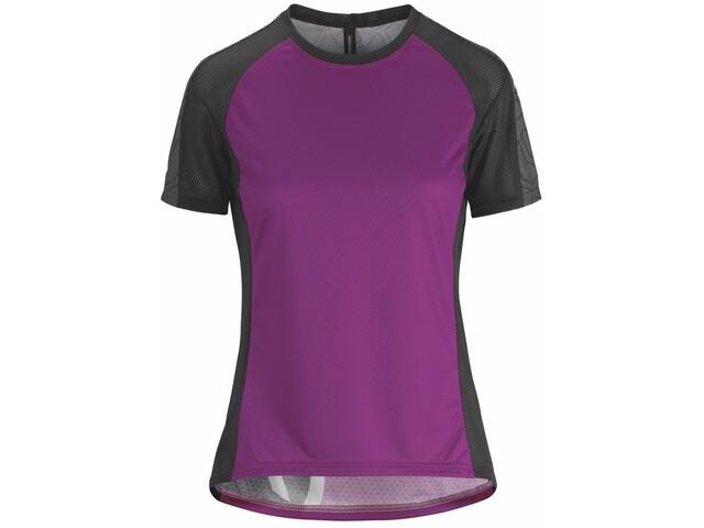 assos Trail Kurzarm Trikot Damen cactus purple